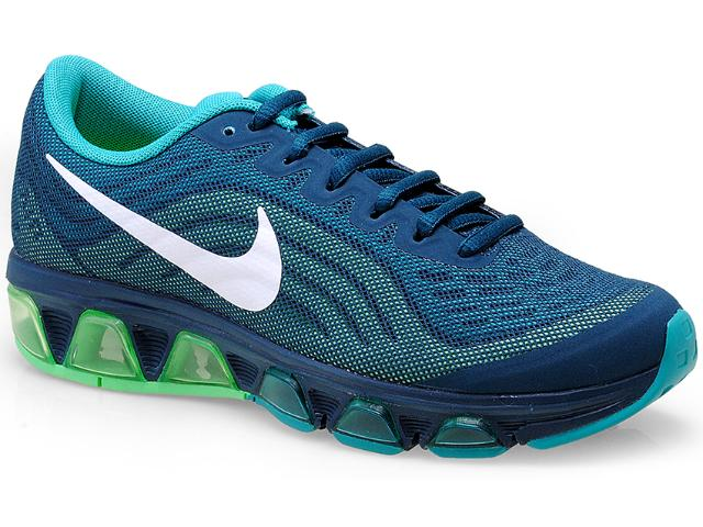 Tênis Feminino Nike 621226-301 Air Max Tailwind  Petróleo/verde