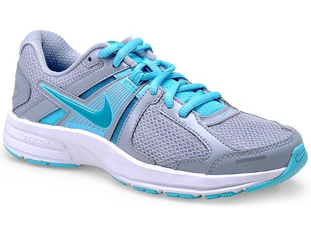 Tênis Feminino Nike 580438-023 Dart 10 Msl Prata/celeste