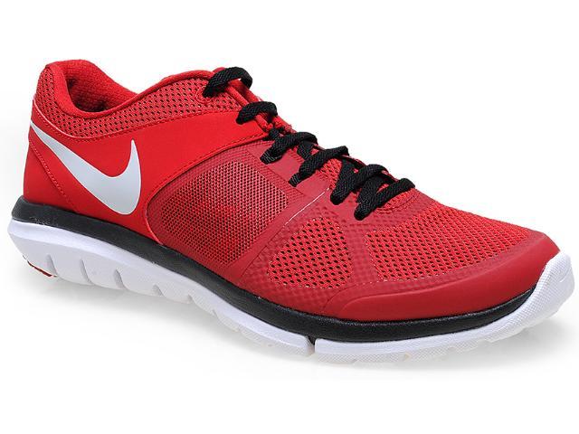 Tênis Masculino Nike 642800-600 Flex 2014 rn Msl Vermelho/branco