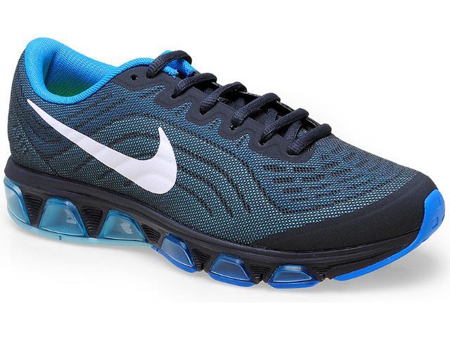 Tênis Masculino Nike 621225-004 Air Max Tailwind 6 Chumbo/azul
