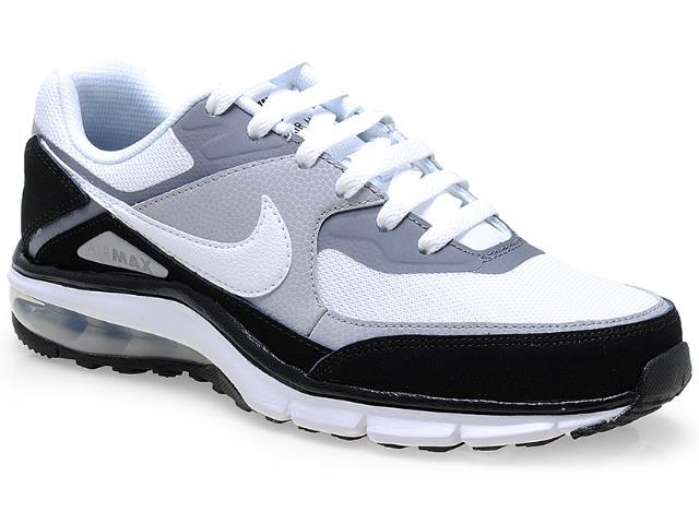 Tênis Masculino Nike 610639-011 Air Max Rebel Branco/cinza/preto