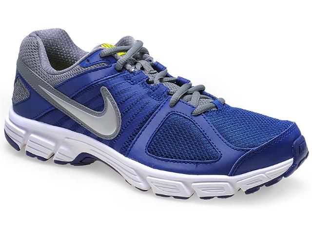 Tênis Masculino Nike 538258-401 Downshifter 5 Msl Marinho/cinza