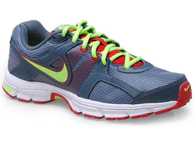 Tênis Masculino Nike 538407-434 Air Retaliate 2 Chumbo/verde/vermelho