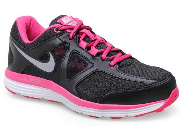 Tênis Feminino Nike 642826-001 Dual Fusion Lite 2 Msl Preto/pink
