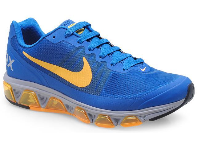 Tênis Masculino Nike 646593-430 Air Max Triade 3 Azul/amarelo