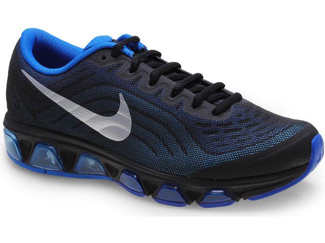 Tênis Masculino Nike 621225-003 Air Max Tailwind 6 Preto/azul