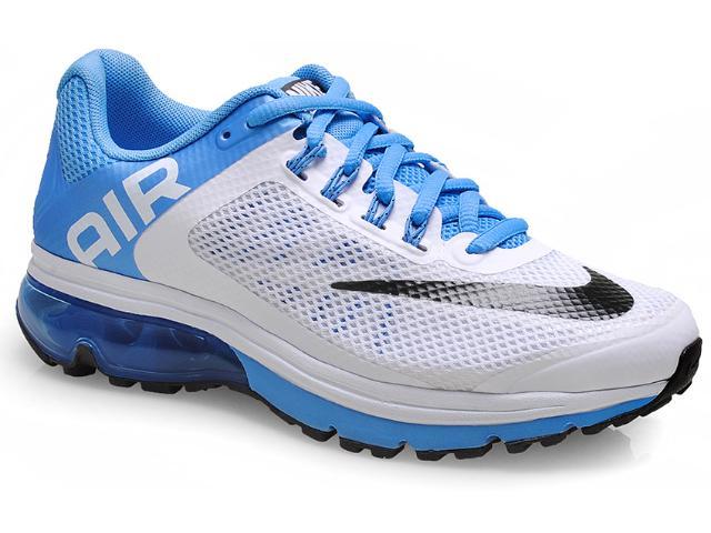 Tênis Feminino Nike 555764-104  Air Max Excellerate +2 Branco/celeste