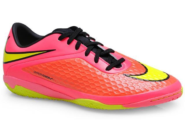 Tênis Masculino Nike 599849-690 Hypervenom Phelon ic Pink/coral/limão