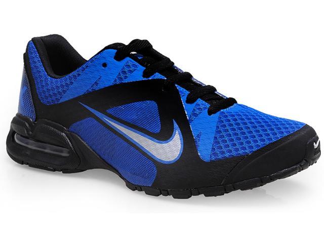 Tênis Masculino Nike 646585-401 Air Max Lte 4 Preto/azul