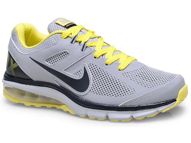Tênis Masculino Nike 599343-007 Air Max Defy rn Cinza/amarelo