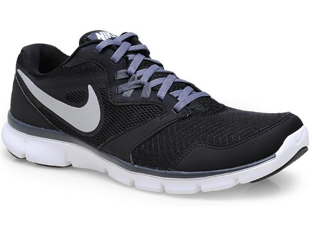 Tênis Masculino Nike 652852-003 Flex Experience rn 3 Msl Preto/cinza/branco