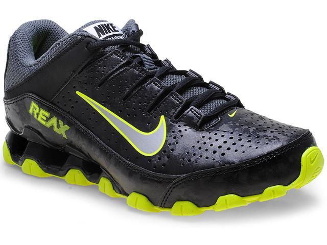 Tênis Masculino Nike 616543-025 Reax 8 tr sl Preto/limão
