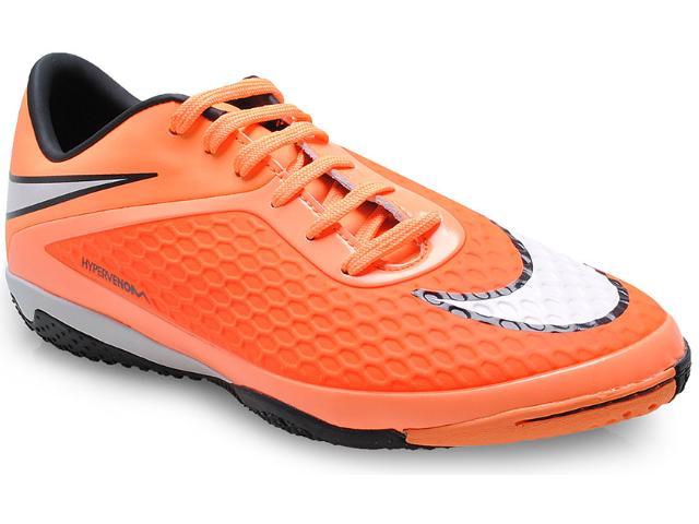 Tênis Masculino Nike 599849-800 Hypervenom Phelom ic Laranja Neon/preto