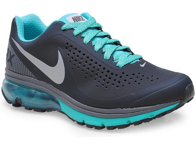 Tênis Feminino Nike 633061-028 Air Max Supreme 2 Chumbo/verde