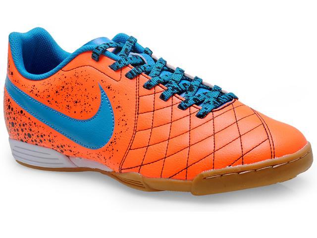 Tênis Masculino Nike 651986-800 Flare 2 ic Laranja Neon/azul