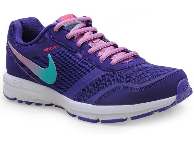 Tênis Feminino Nike 685152-500 Air Relentless 4 Msl Roxo/branco