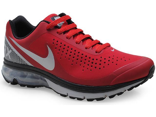 Tênis Masculino Nike 633024-601 Air Max Supreme 2 Vermelho/cinza