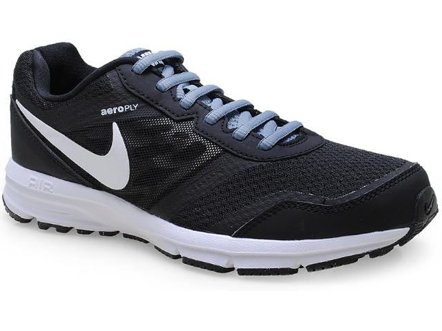 Tênis Masculino Nike 685139-002 Air Relentss 4 Msl Preto/branco