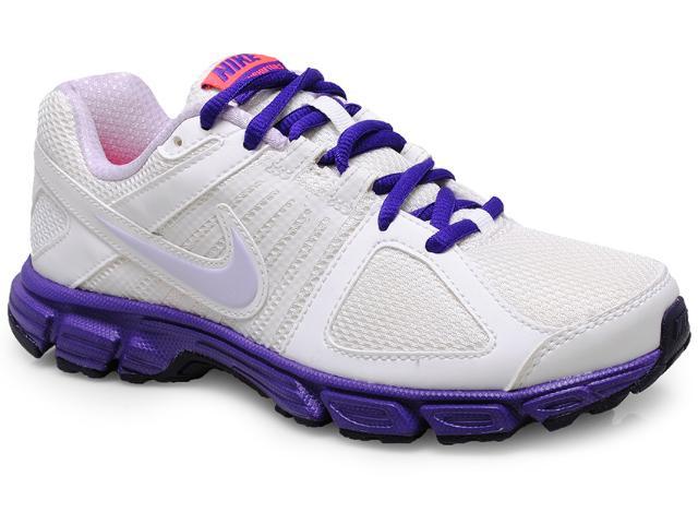 Tênis Feminino Nike 537572-107 Downshifter 5 Msl Branco/roxo