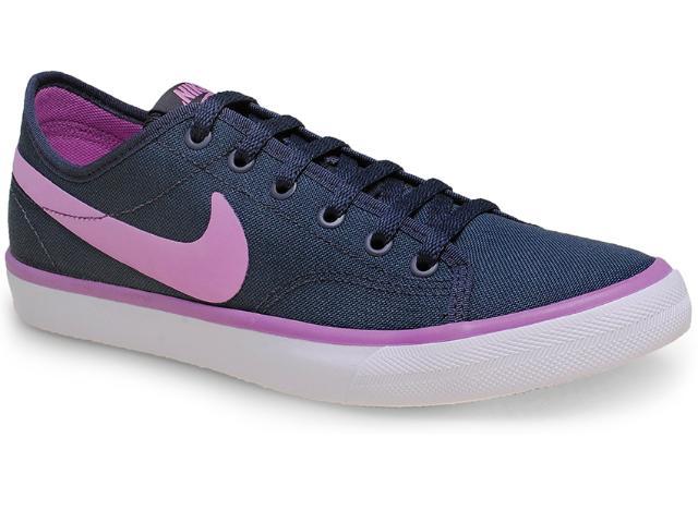 Tênis Feminino Nike 631635-069 Primo Court Canvas Chumbo/lilas