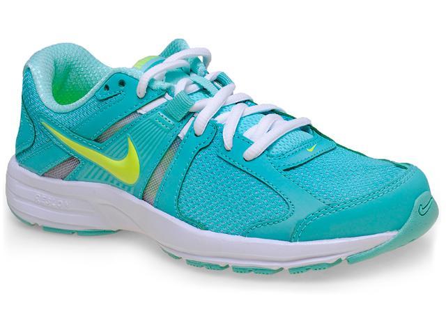 Tênis Feminino Nike 580438-300 Dart 10 Msl Verde Claro/branco