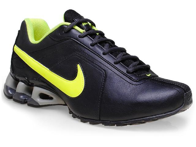 Tênis Masculino Nike 512768-003 Impax Emirro ii sl Emb Preto/limão