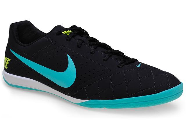 Tênis Masculino Nike 646433-002 Beco 2 Preto/verde Agua