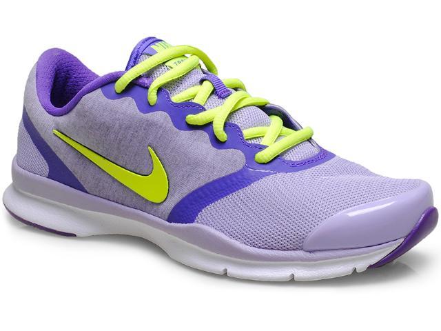 Tênis Feminino Nike 653543-500  In-season tr 4 Lilas/roxo/limão