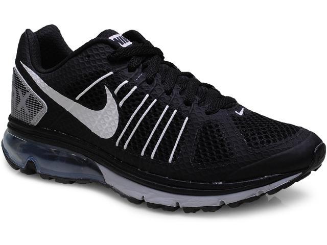 Tênis Masculino Nike 632630-014 Air Max Finale+ 2 Preto/branco/prata