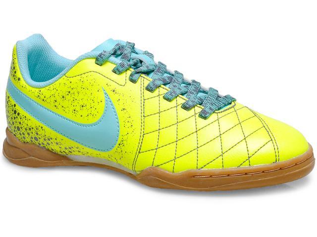 a811612277c93 Tênis Masc Infantil Nike 651983-701 jr Flar 2 ic Amarelo verde Agua