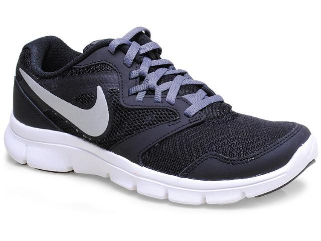 Tênis Feminino Nike 653701-001 Flex Experience 3 Preto/prata/bco