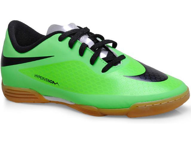 Tênis Masc Infantil Nike 633412-303 jr Hypervenom Phade ic Limão/preto