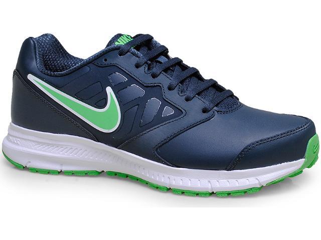 Tênis Masculino Nike 684654-008 Downshifter 6 Lea  Grafite/verde
