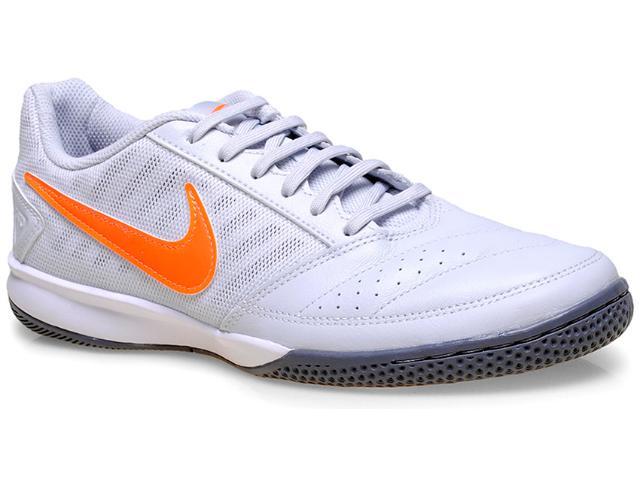 Tênis Masculino Nike 580453-081 Gato ii Cinza Claro/laranja