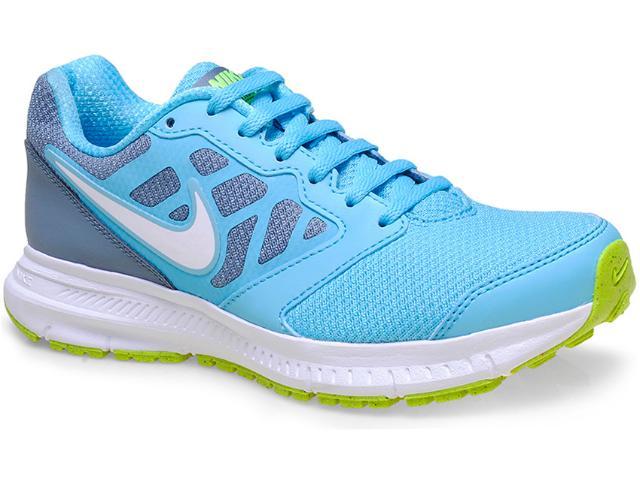 Tênis Feminino Nike 684771-401 Wmns Downshifter 6 Msl Chumbo/azul