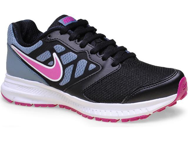 Tênis Feminino Nike 684771-007 Wmns Downshifter 6 Msl Cinza/preto/pink