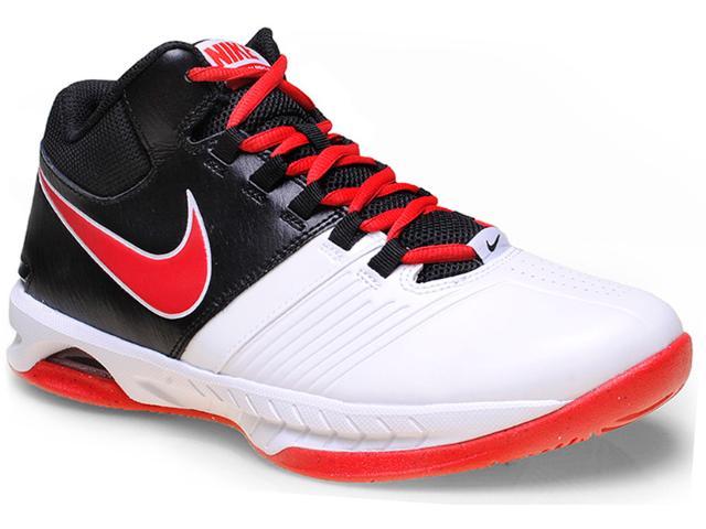 Tênis Masculino Nike 653656-102 Air Visi Pro v  Branco/vermelho/preto