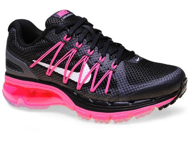 Tênis Feminino Nike 703073-001 Wmns Air Max Excellerate 3 Preto/rosa