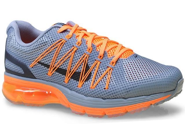 Tênis Masculino Nike 703072-005 Air Max Excellerate 3 Cinza/laranja