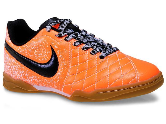 Tênis Masc Infantil Nike 651983-801 jr Flare 2 ic  Laranja/preto