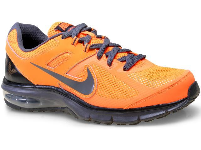 Tênis Masculino Nike 599343-801 Air Max Defy rn Laranja Neon