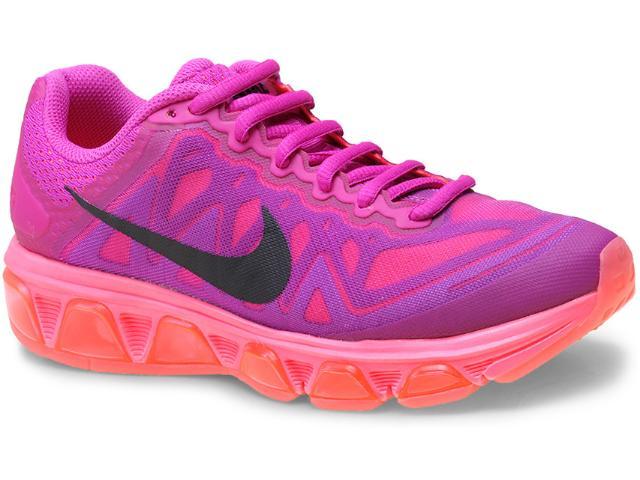 Tênis Feminino Nike 683635-502 Wmns  Air Max Tailwind 7  Violeta/rosa