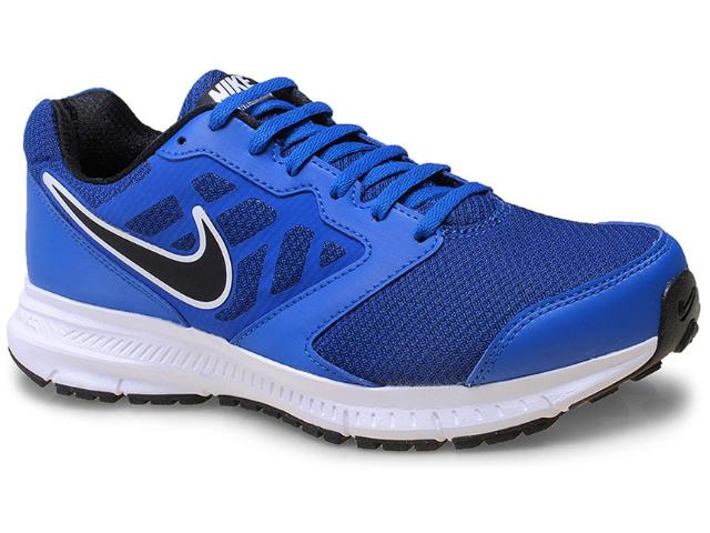 Tênis Masculino Nike 684658-406 Downshifter 6 Msl  Azul