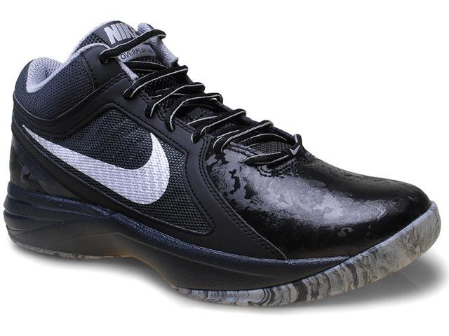 Tênis Masculino Nike 637382-015 The Overplay Viii  Preto