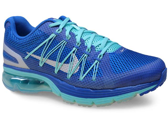 Tênis Masculino Nike 703072-402 Air Max Excellerate 3 Azul/verde