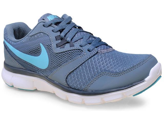 Tênis Feminino Nike 652858-403 Flx Experience rn 3 Msl Cinza/azul Celeste