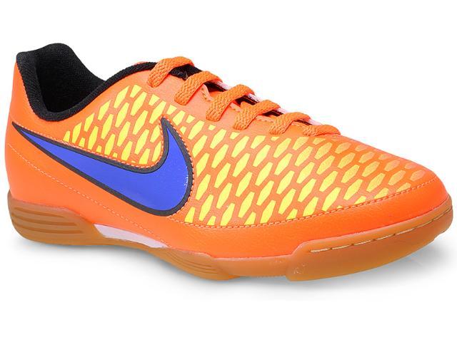 Tênis Masc Infantil Nike 651650-858 jr Magista Ola ic  Laranja/roxo