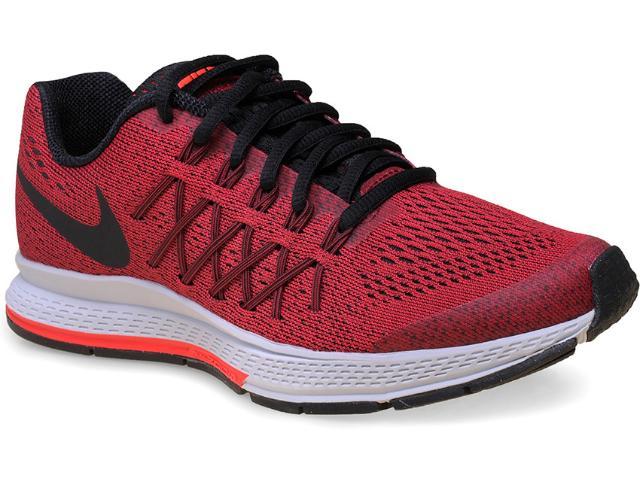 Tênis Feminino Nike 759968-600 Zoom Pegasus 32 Vermelho/preto