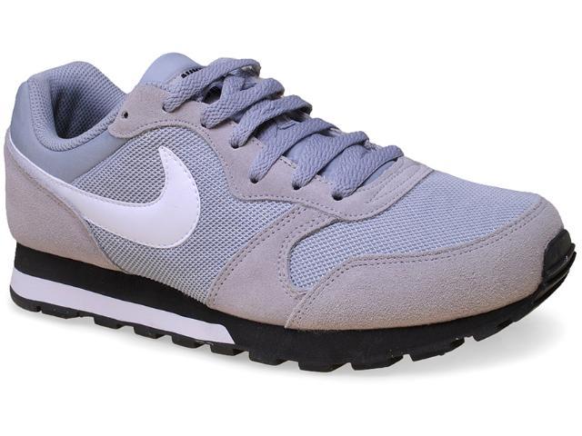 Tênis Masculino Nike 749794-011 md Runner 2 Cinza/branco/preto