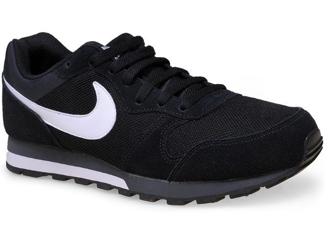 Tênis Masculino Nike 749794-010 md Runner 2  Preto/branco